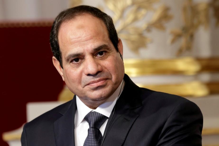 Le président égyptien Abdel Fattah Al-Sissi.... (REUTERS)