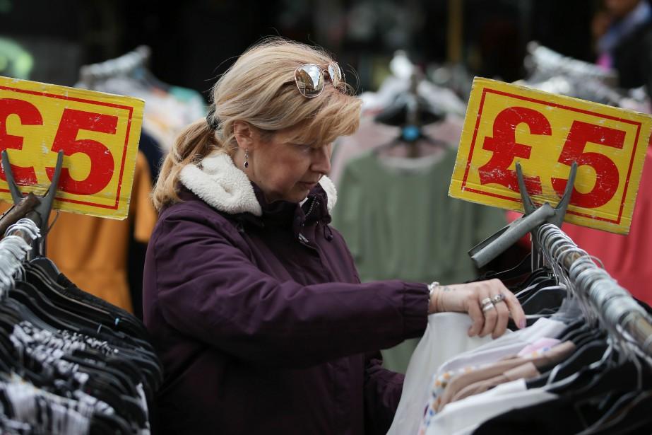 Symboliquement, ce ralentissement d'ensemble place le Royaume-Uni en... (AFP)