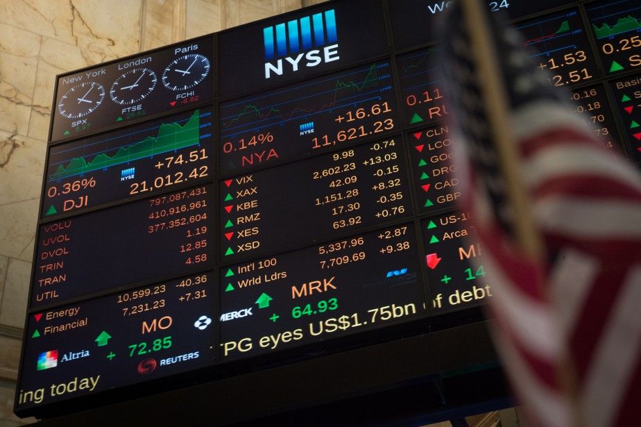 L'indice élargi S&P 500 a avancé de 10,68... (Photo archives AFP)