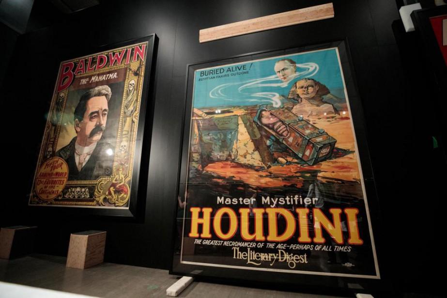 Dans le cadre de l'exposition Illusions -L'art de... (Photo Hugo-Sébastien Aubert, La Presse)