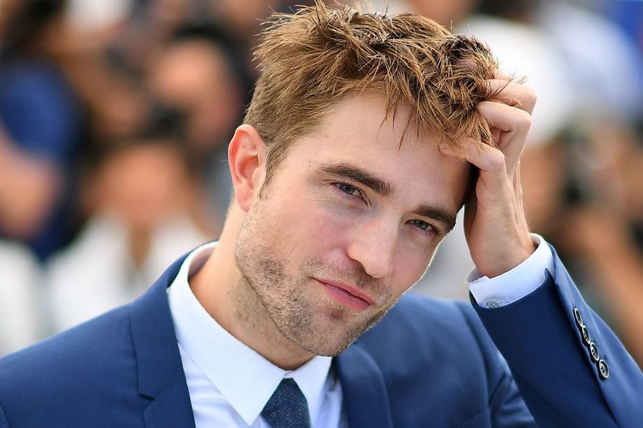 Robert Pattinson a débarqué jeudi à Cannes, avec... (PHOTO AFP)