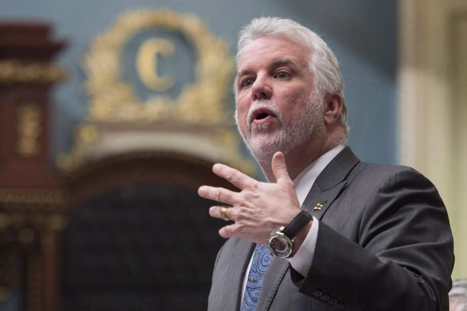 Le premier ministre du Québec, Philippe Couillard.... (Photo Jacques Boissinot, archives PC)