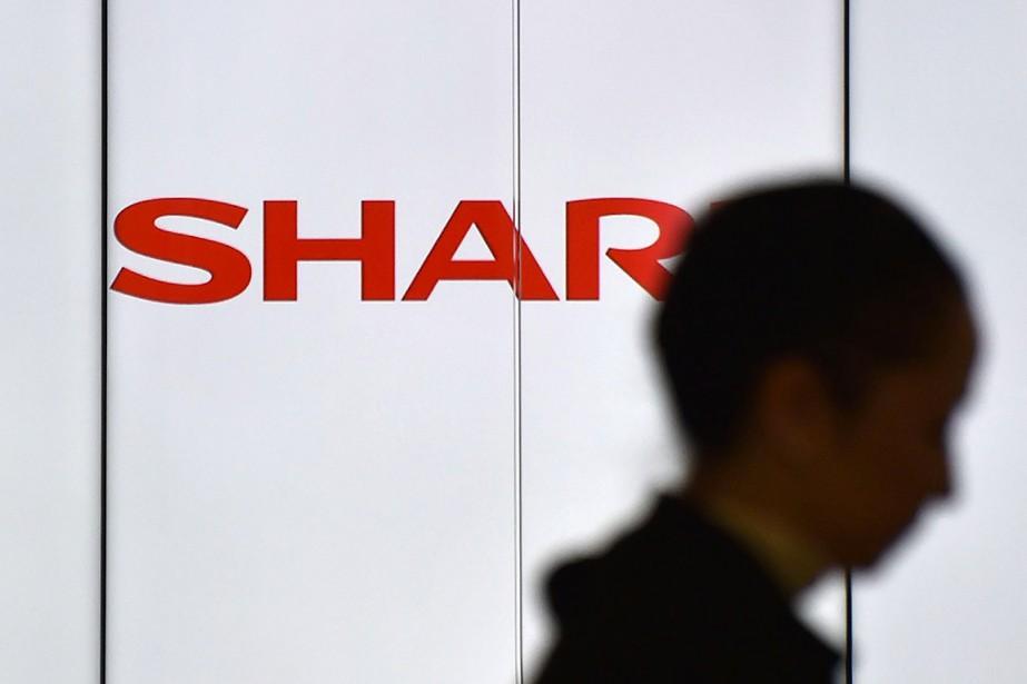 Sharp avait publié ses résultats2016/17 fin avril, mais... (KAZUHIRO NOGI, archives AFP)