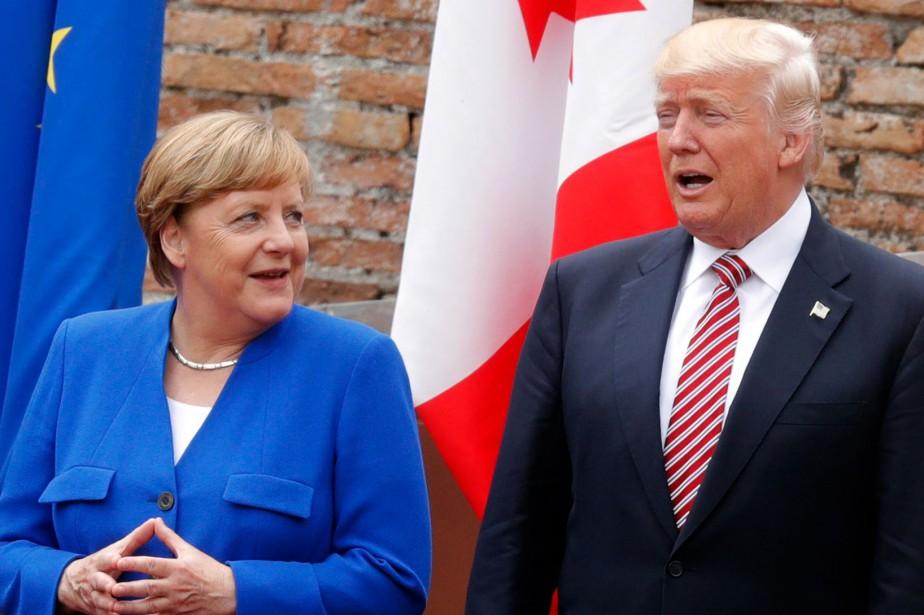 Selon l'hebdomadaireDer Spiegel, Donald Trump aurait déclaré jeudi:... (Photo PHILIPPE WOJAZER, AFP)