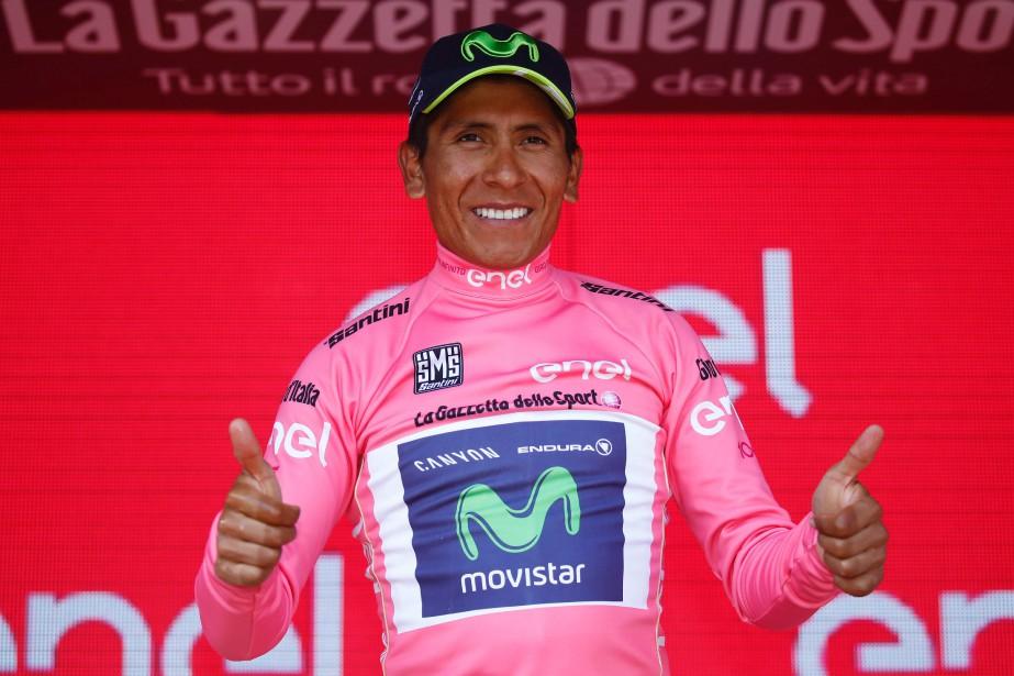 Nairo Quintana... (Photo Luk Benies, AFP)