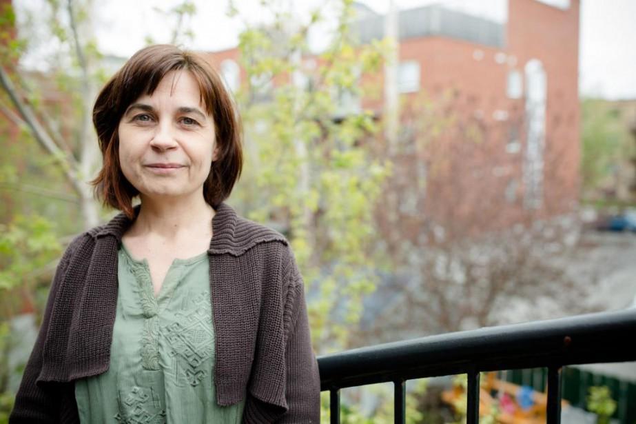 Christelle Lebreton, auteure et chercheuse... (Photo Ninon Pednault, La Presse)