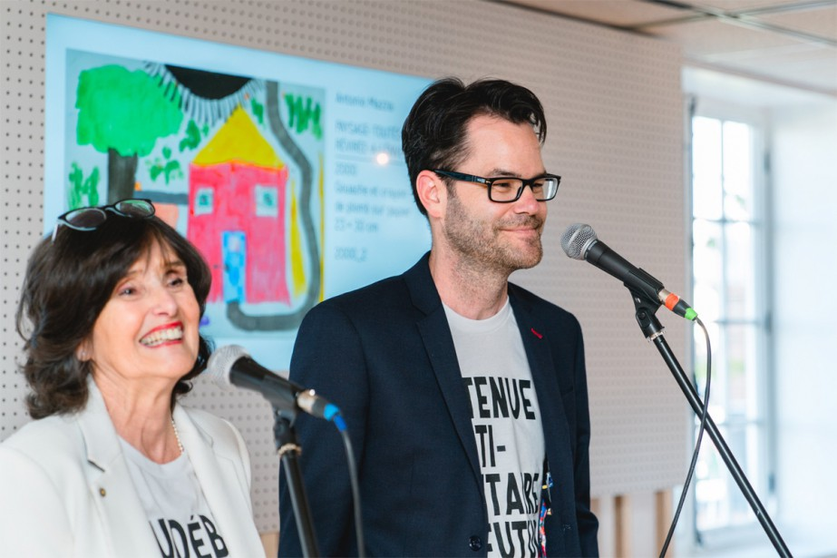 Lorraine Palardy et Frédéric Palardy... (Photo fournie par Les Impatients)