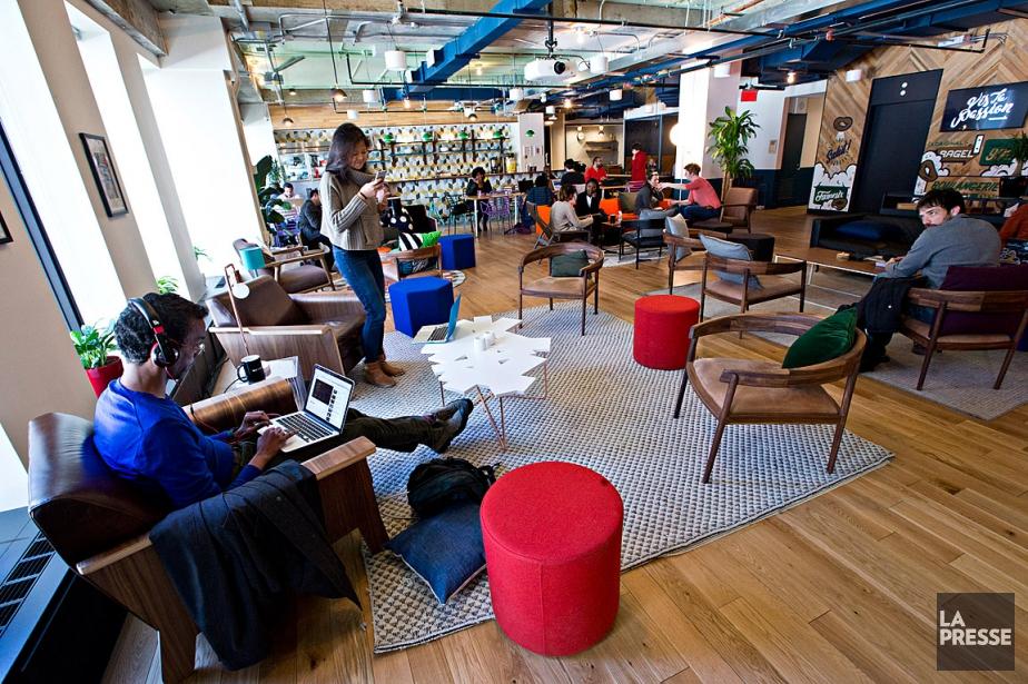 WeWork compte 140espaces de coworking dans 47villes, de... (Photo Patrick Sanfaçon, archives La Presse)