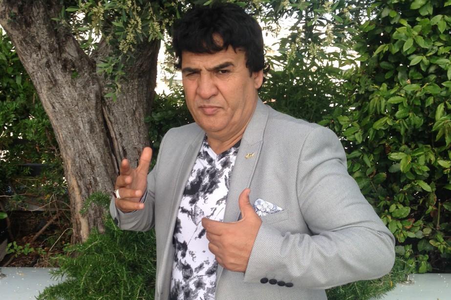 Salim Shaheen, réalisateur star de films de série... (PHOTO AFP)