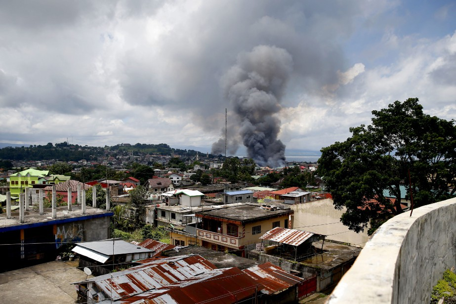 Les affrontements de Marawi ont éclaté après un... (Photo Bullit Marquez, Associated Press)