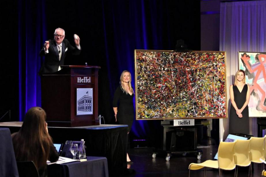 Le commissaire-priseur David K.J Heffel, président de la... (Photo fournie par la Maison Heffel)