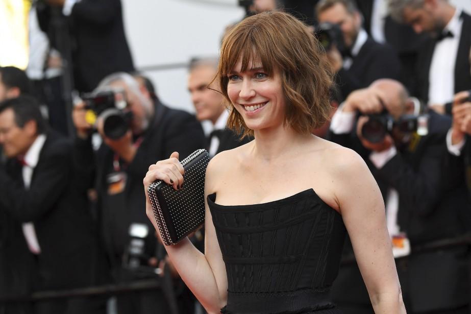 L'actrice Québécoise Marie-Josée Croze a assisté à la projection du dernier film de Roman Polanski, D'après une histoire vraie. | 27 mai 2017