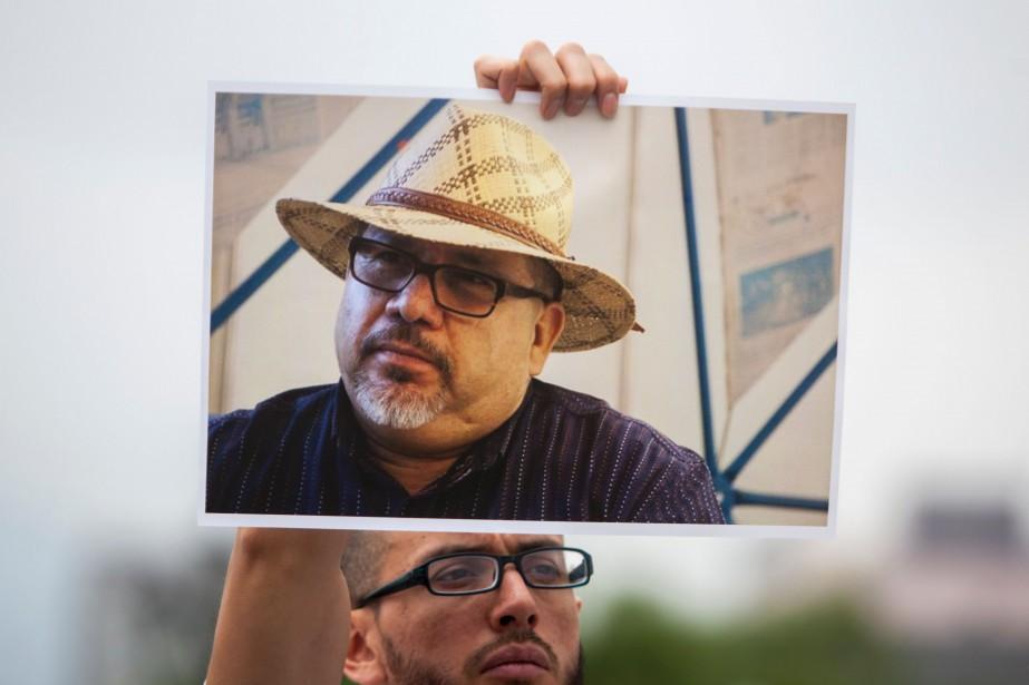 Javier Valdez, un reporter spécialiste du narcotrafic a... (PHOTO Julio Cesar AGUILAR, AFP)
