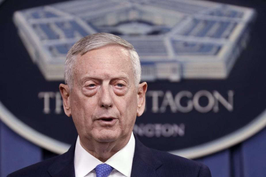 Le secrétaire à la Défense Jim Mattis... (Photo Jacquelyn Martin, archives Associated Press)