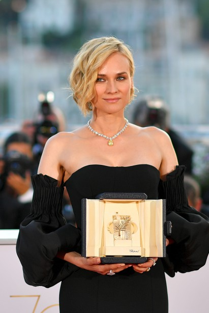 L'actrice allemande Diane Kruger a été sacrée pour la meilleure interprétation féminine pour In the Fade. | 28 mai 2017