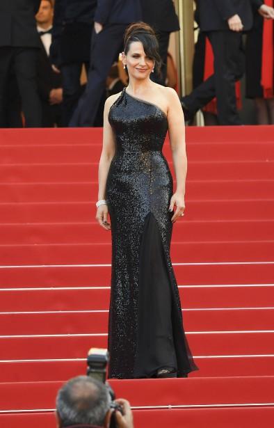 L'actrice française Juliette Binoche | 28 mai 2017
