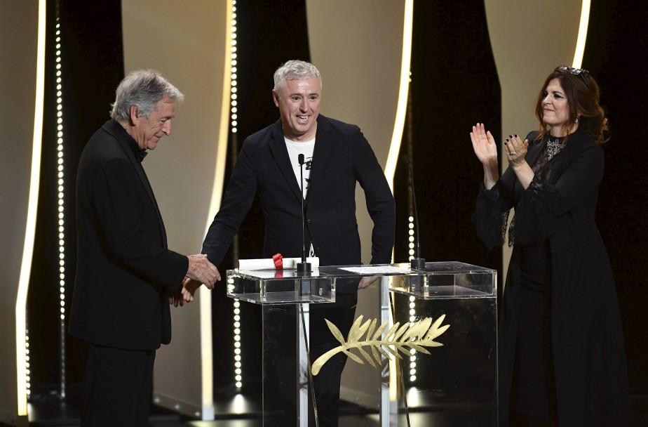 Le réalisateur français Robin Campillo a remporté le Grand prix du jury pour 120 Battements par minute.  | 28 mai 2017