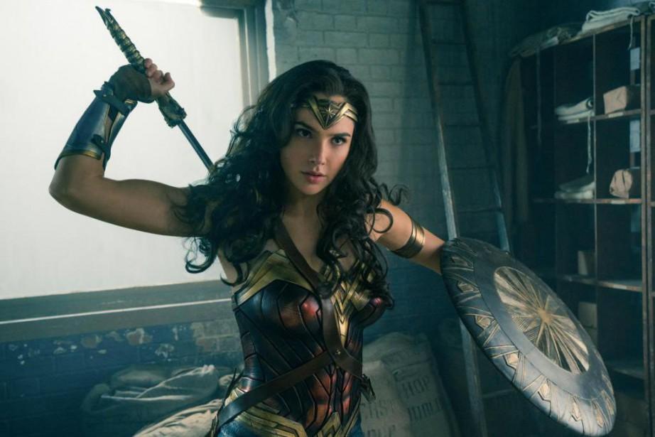 La super héroïne Wonder Woman s'est emparée de... (Photo fournie par Warner Bros)