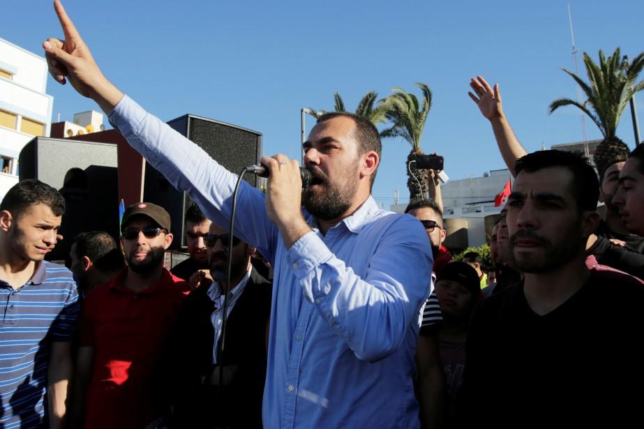 Nasser Zefzafi, chômeur de 39 ans, était devenu... (Photo REUTERS)