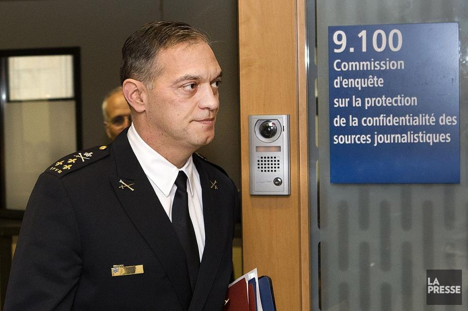 Le chef du Service de police de la... (ROBERT SKINNER, ARCHIVES LA PRESSE)