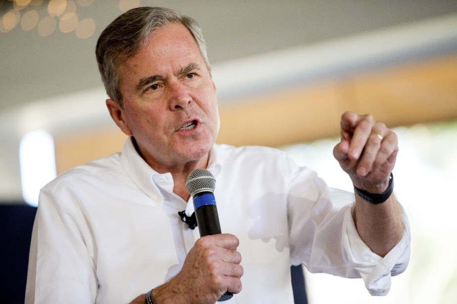 L'ancien gouverneur de la Floride, Jeb Bush,dirigeait un... (Photo Andrew Harnik, archives AP)
