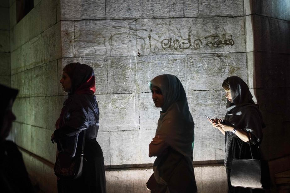 Selon la loi islamique en vigueur depuis la... (Photo Behrouz MEHRI, archives Agence France-Presse)