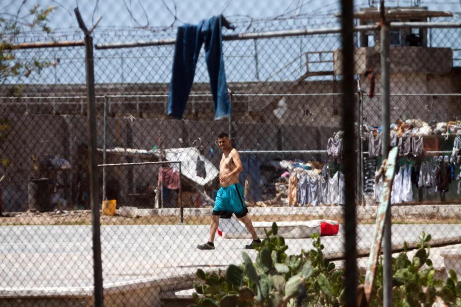 Un détenu de la prison de Reynosa.... (Photo Julio Cesar AGUILAR, archives Agence France-Presse)