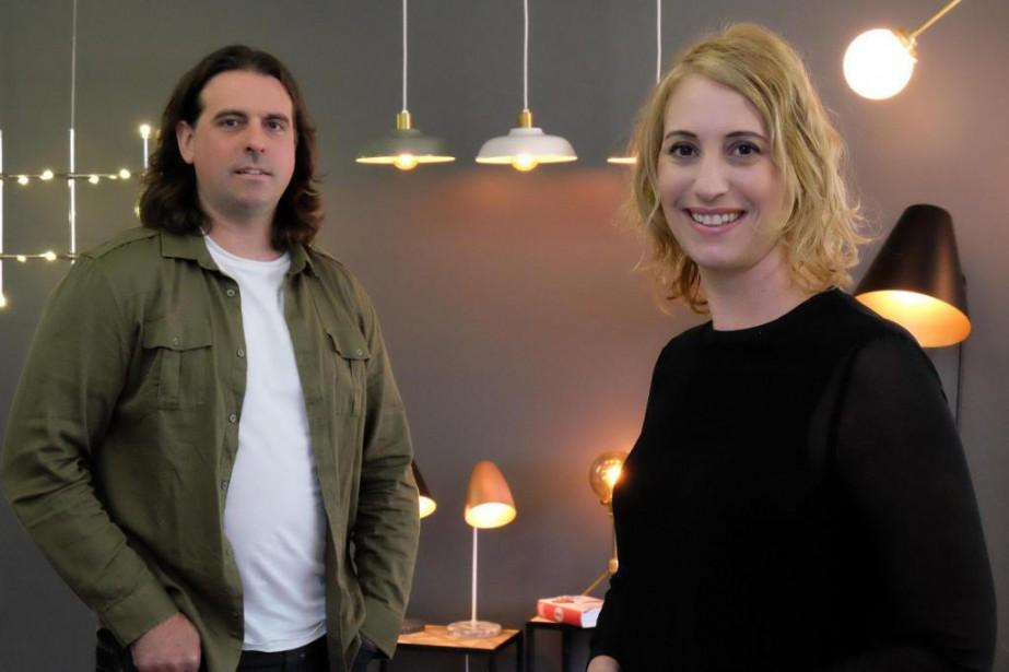 Jani Thibeault et Pierre Gagné, cofondateurs de Tungstène... (photo la voix de l'Est)