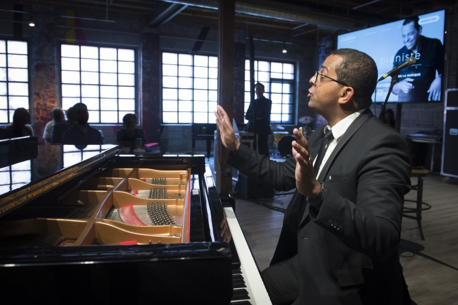 Gregory Charles... (Photo Catherine Lefebvre, collaboration spéciale)