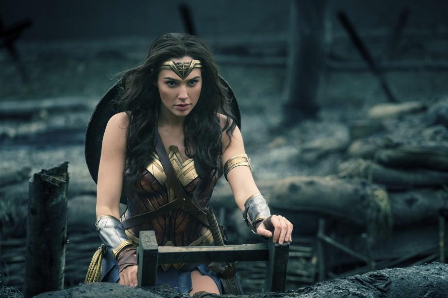 Le rôle de Wonder Woman estincarné par l'actrice... (Photo Clay Enos/Warner Bros. Entertainment via AP)