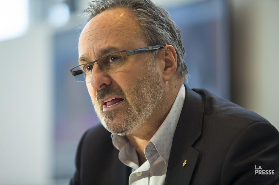 Le président de la FTQ, Daniel Boyer.... (Photo archives La Presse)