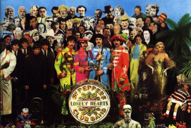 Au total, 57photographies de personnalités admirées par lesBeatles... (Image fournie par Capitol)