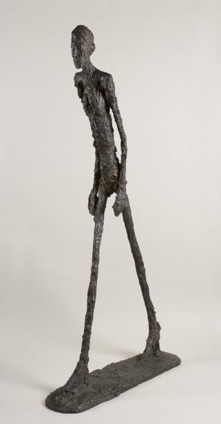 Alberto Giacometti,  Homme qui marche , 1960. Bronze, 180,5 x 27 x 97 cm   1 juin 2017