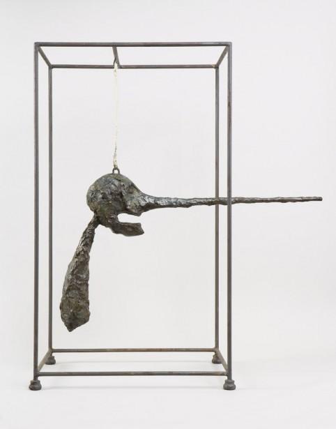 Alberto Giacometti,  Le Nez , 1947. Bronze, 80,9 x 70,5 x 40,6 cm   1 juin 2017