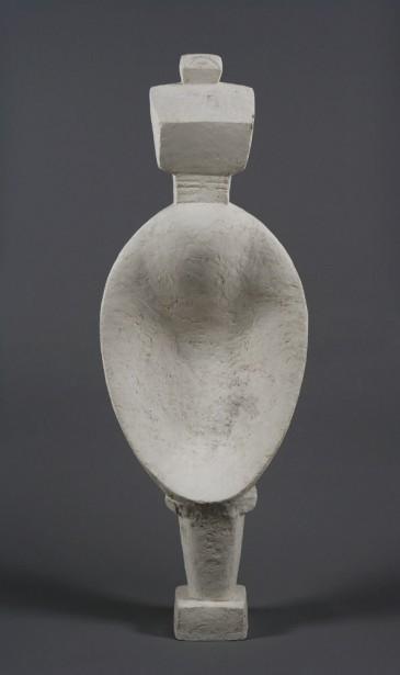 Alberto Giacometti,  Femme cuillère , 1927 - état 1953. Plâtre, 146,5 x 51,6 x 21,5 cm   1 juin 2017