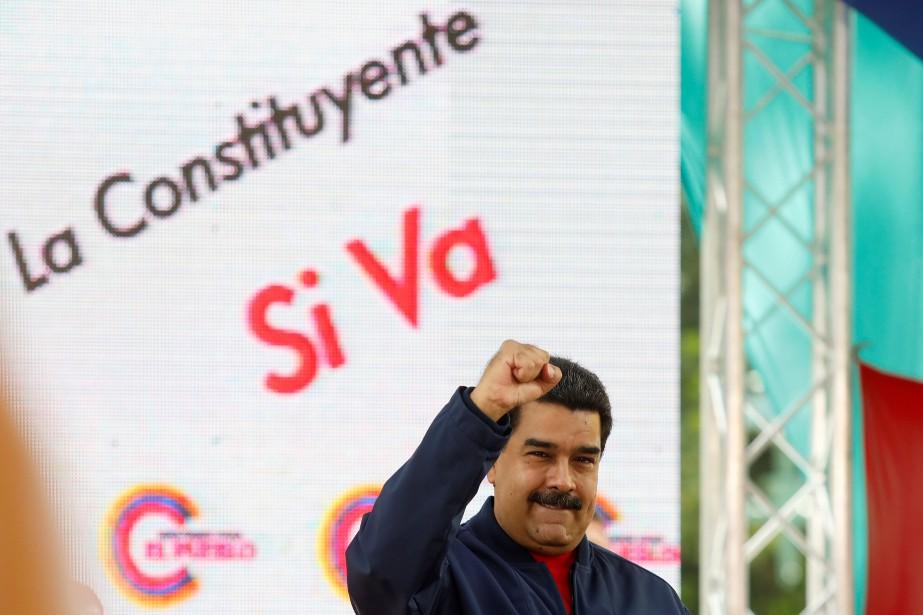 Le président vénézuélien, Nicolas Maduro... (PHOTO Marco Bello, ARCHIVES REUTERS)