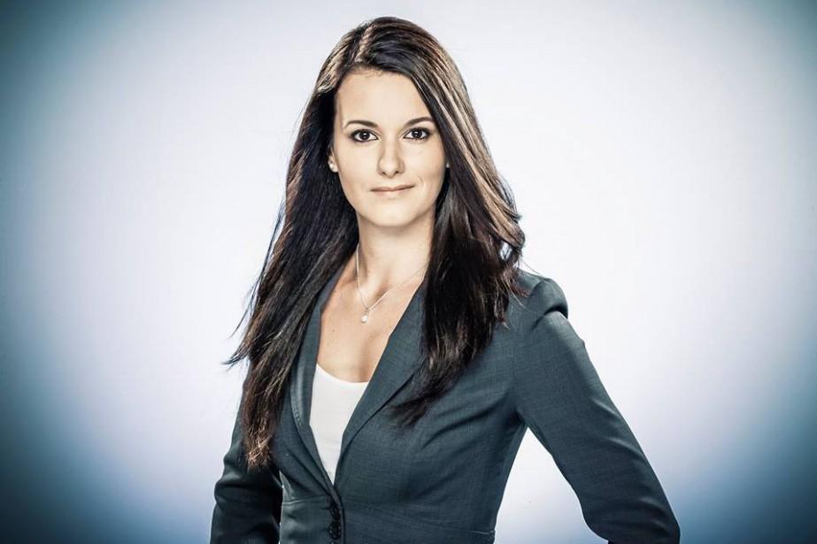 La journaliste Monic Néron a été ciblée par... (photo tirée de facebook)