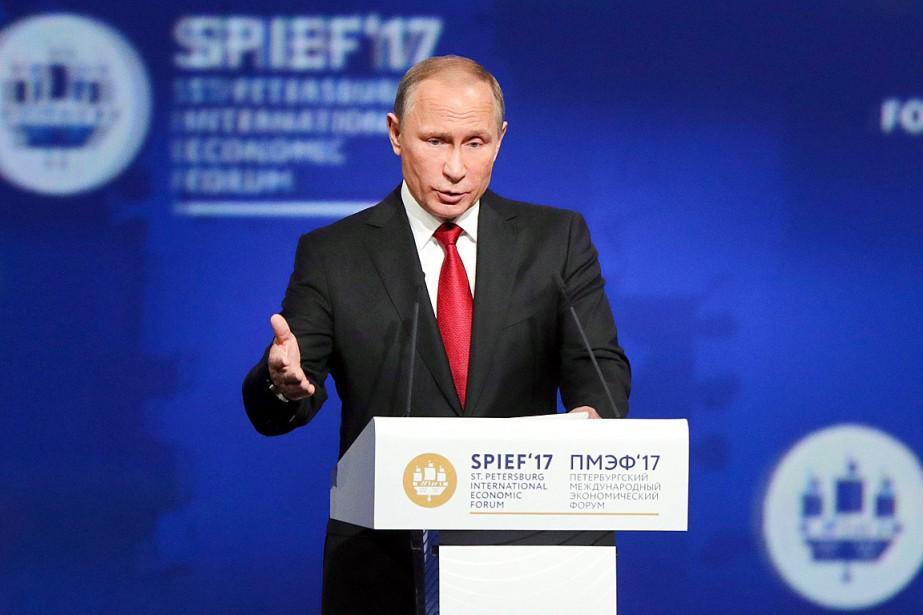 «L'économie est entrée dans une nouvelle phase d'expansion»,... (Photo Vladimir Smirnov, AP/TASS News Agency)