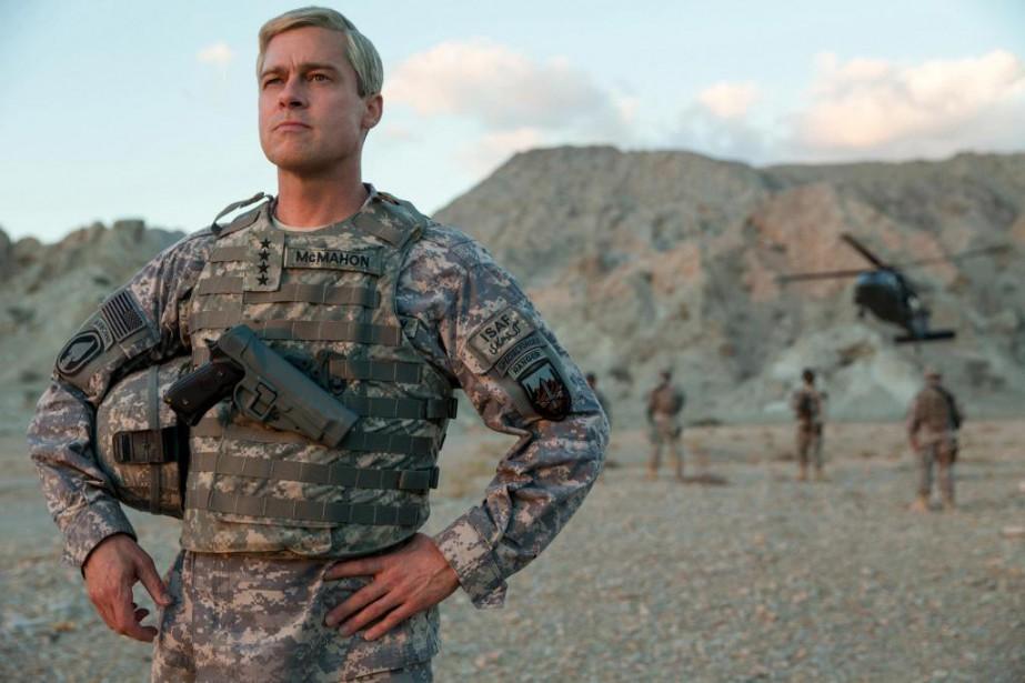 Brad Pitt dans War Machine... (Photo fournie par Netflix)