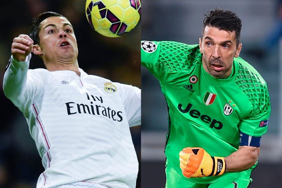 L'attaquant du Real Madrid Cristiano Ronaldo et le...