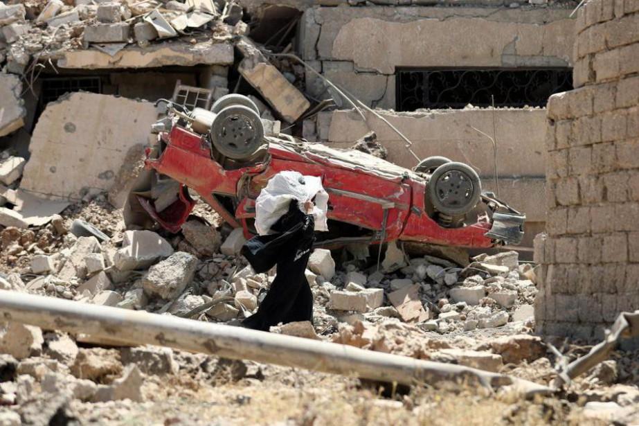 La chute imminente de la ville de Mossoul... (PHOTO KARIM SAHIB, AGENCE FRANCE-Presse)