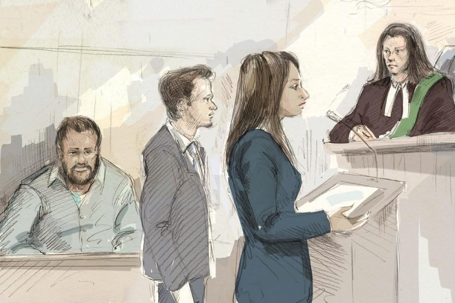 Kevin Omar Muhamed (à gauche)a plaidé coupable d'avoir... (Image fournie par Alexandra Newbould, La Presse canadienne)