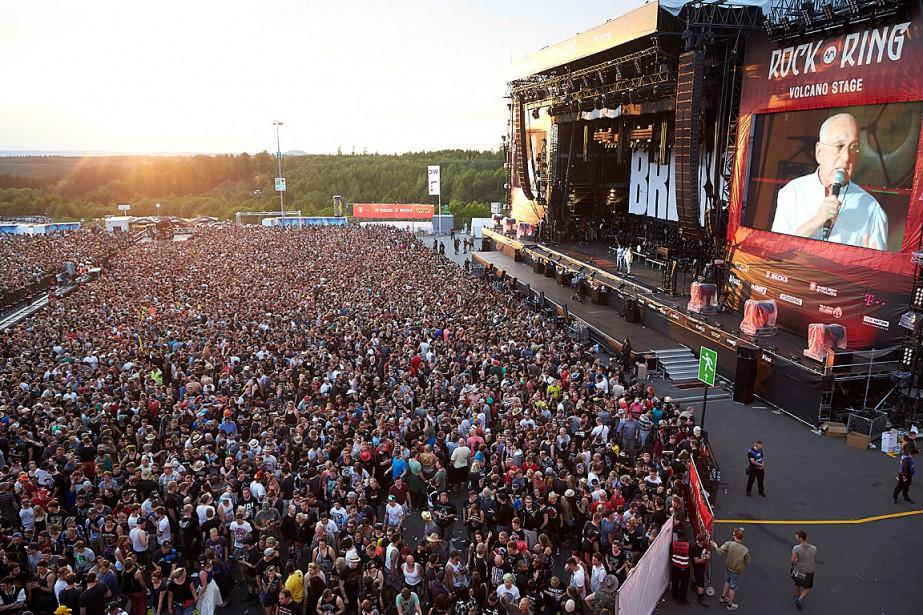 L'organisateur de Rock am Ring, Marek Lieberberg, annonce... (Photo Thomas Frey, AP/DPA)