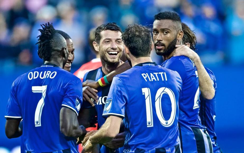 Les joueurs de l'Impact auront toute une commande... (Photo André Pichette, Archives La Presse)