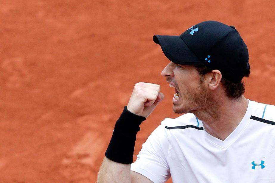 Andy Murray... (Photo Christophe Ena, Associated Press)