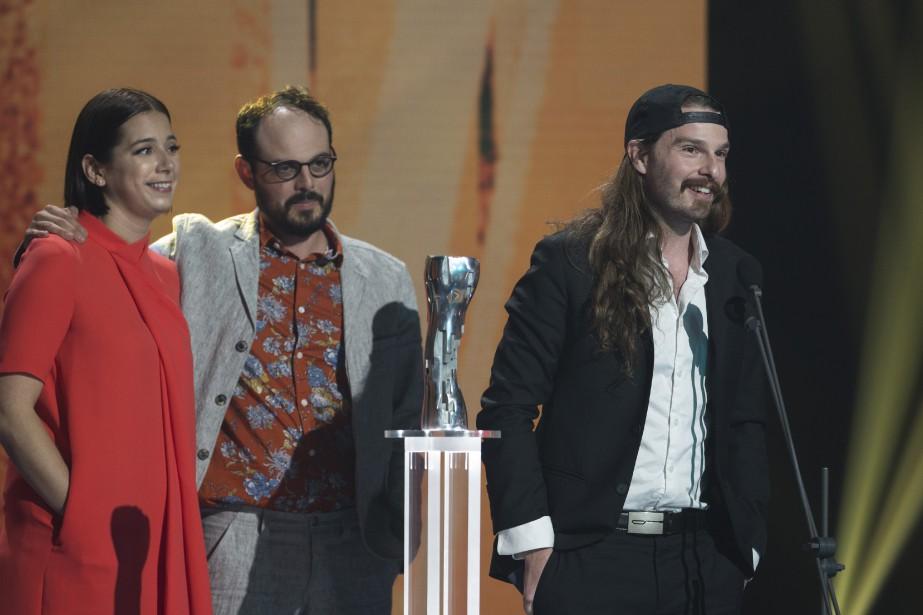 Alexandre Dostie a été récompensé pour son court métrage<em>Mutants</em>. (OLIVIER JEAN, LA PRESSE)