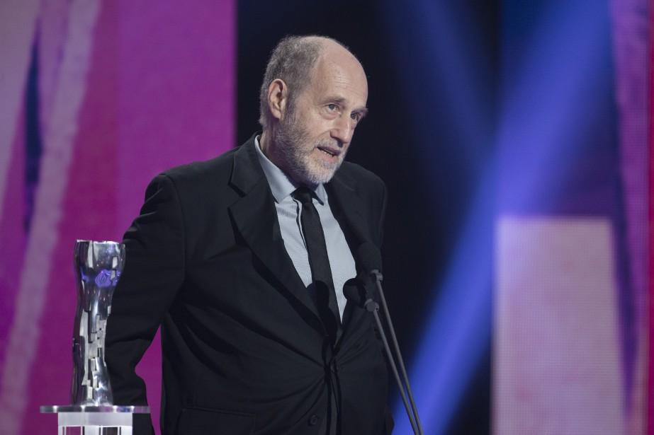 Gabriel Arcand a été sacré meilleur acteur pour sa performance dans <em>Le fils de Jean</em>. (OLIVIER JEAN, LA PRESSE)