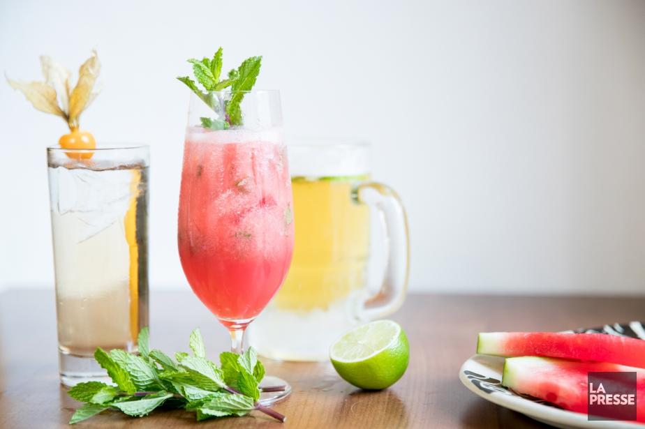 Pour fêter l'arrivée de l'été, les cocktails sont... (Photo Marco Campanozzi, La Presse)
