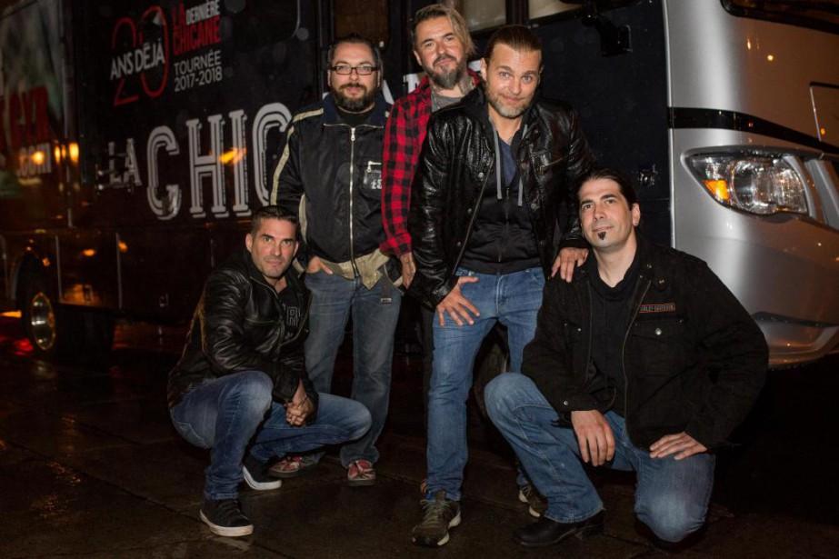 Après une absence de dix ans, le groupe... (PHOTO SIMON GIROUX, LA PRESSE)