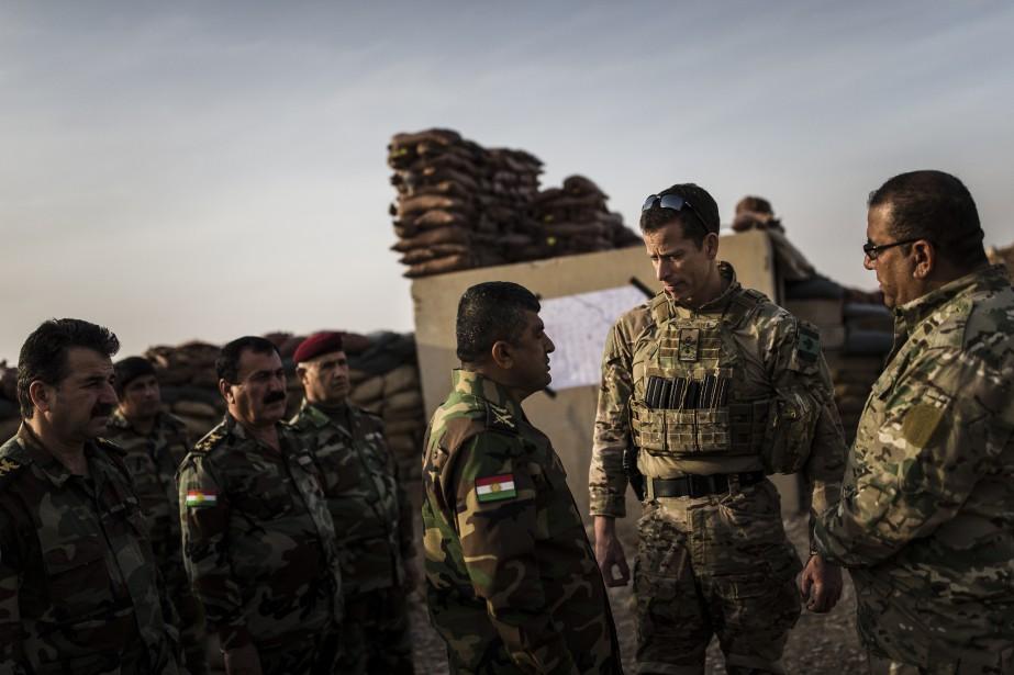 La présence des militaires canadiens en Irak et... (Archives, La Presse)